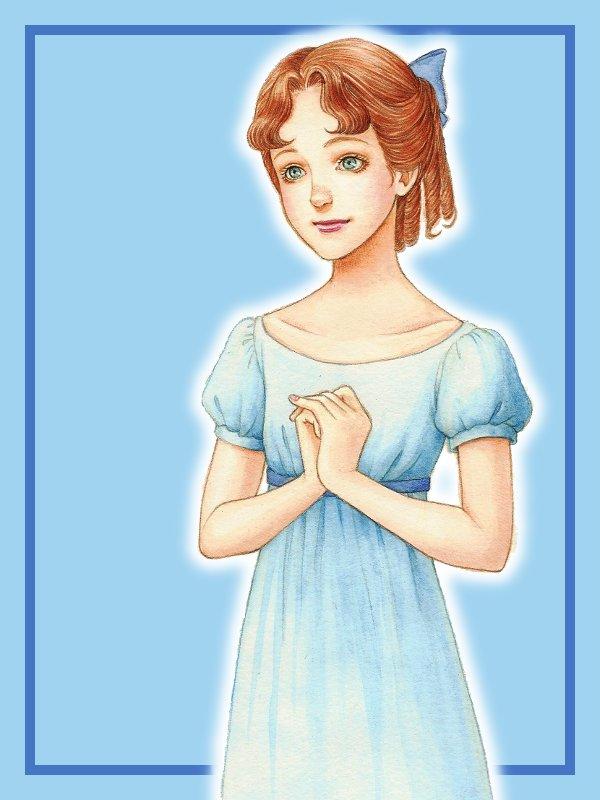 Tags: Anime, Peter Pan, Peter Pan (Disney), Wendy Darling, Disney, Pixiv