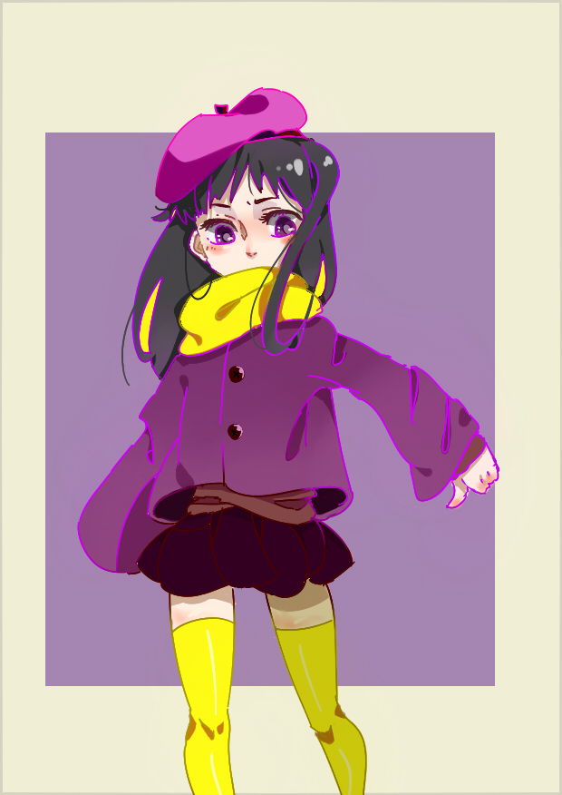 Tags: Anime, Pixiv Id 2895097, South Park, Wendy Testaburger, Purple Jacket, Pixiv, Fanart From Pixiv, Fanart