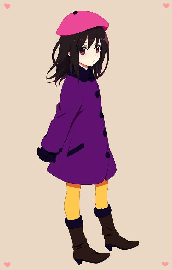 Tags: Anime, Homopero, South Park, Wendy Testaburger, Mobile Wallpaper