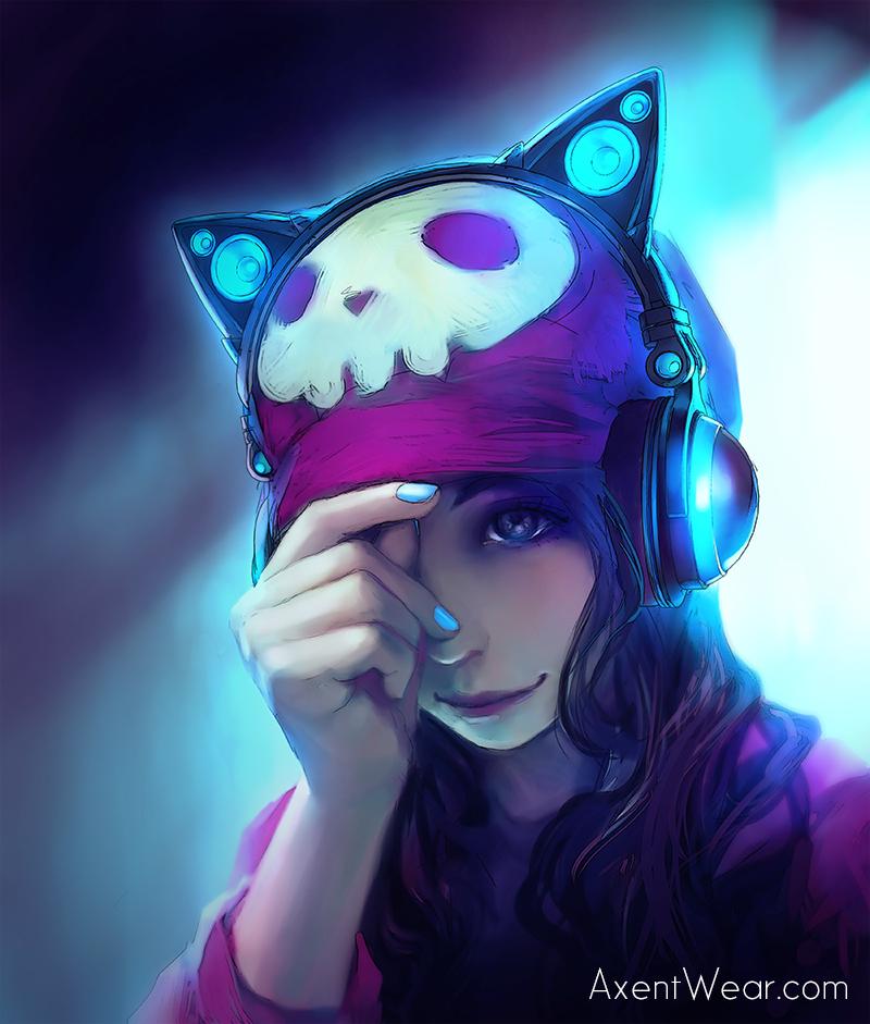 Axent Wear Headphones Zerochan Anime Image Board