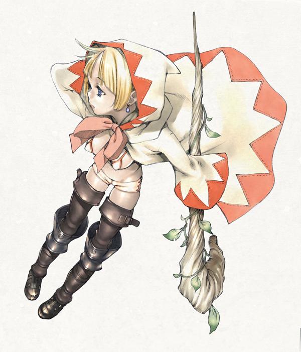 Anime White Mage Staff