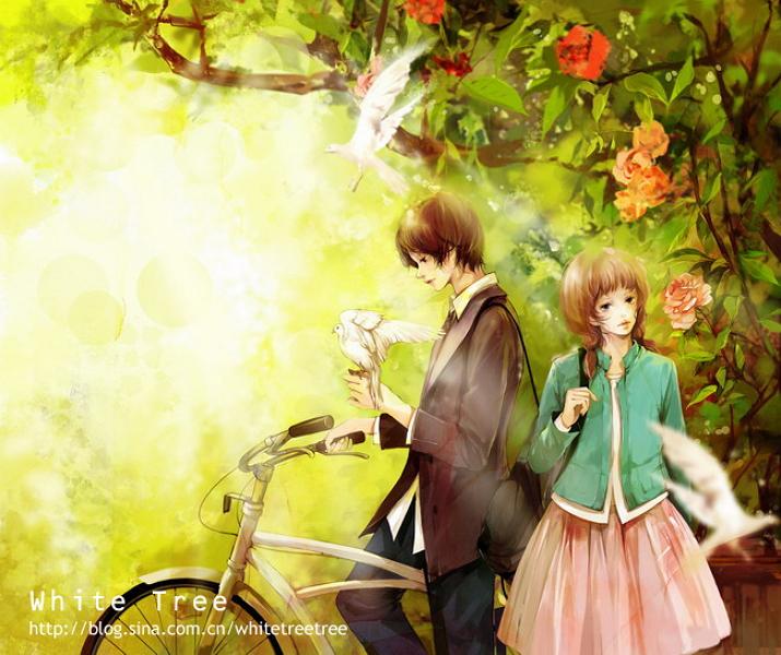 White Tree Artist Zerochan Anime Image Board