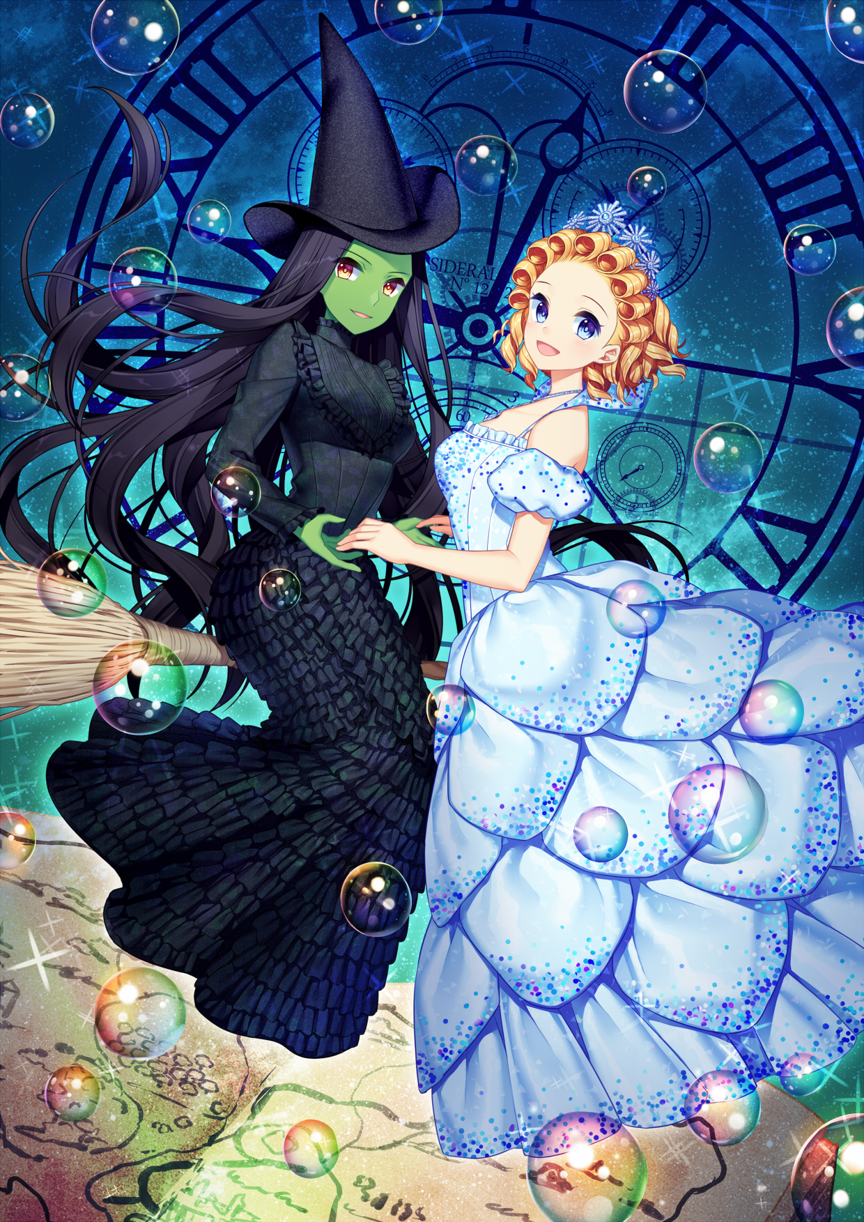 Wicked The Untold Story Of The Witches Of Oz Mobile Wallpaper
