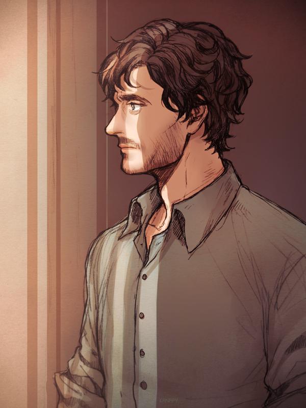 Tags: Anime, KANapy, Hannibal (TV Series), Will Graham, Fanart From Pixiv, Pixiv, Fanart