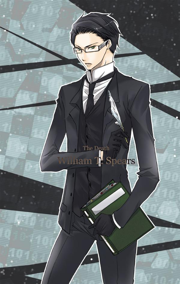 Tags: Anime, Camellia (Artist), Kuroshitsuji, William T. Spears, Pixiv, Fanart