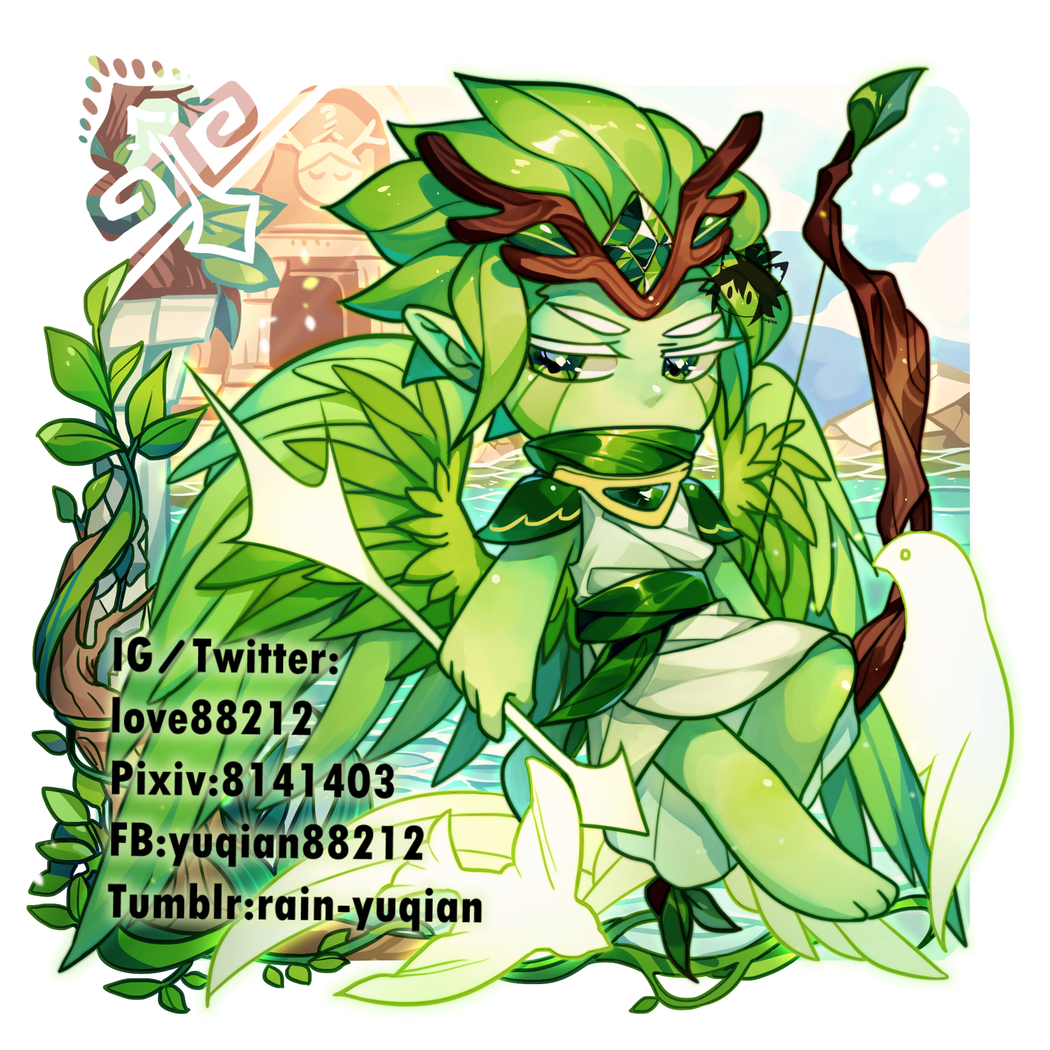 Wind Archer Cookie Guardian Of The Millennial Tree Image
