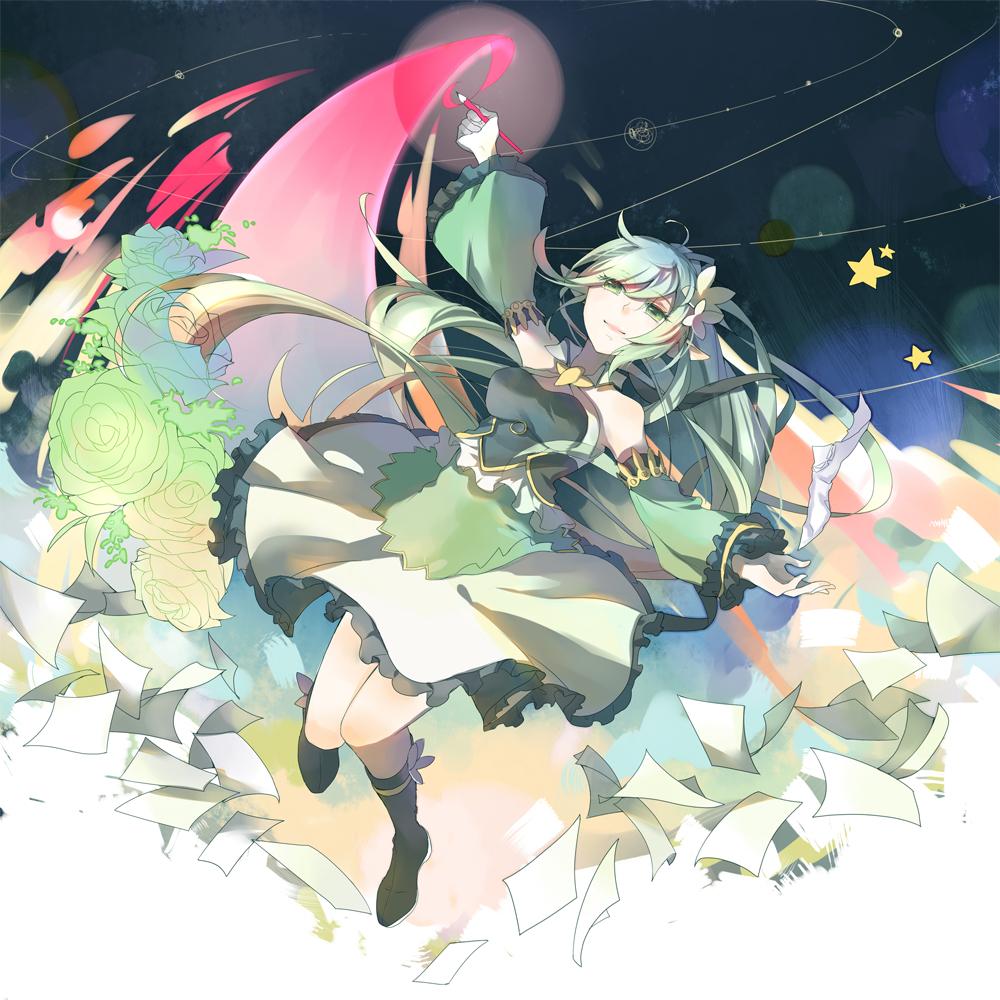 Tags Anime Pixiv Id 12532962 Elsword Wind Sneaker Rena