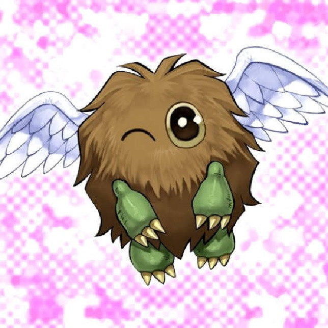 Tags: Anime, Yu-Gi-Oh! GX, Yu-Gi-Oh!, Winged Kuriboh, Official Card Illustration, Card (Source), Official Art