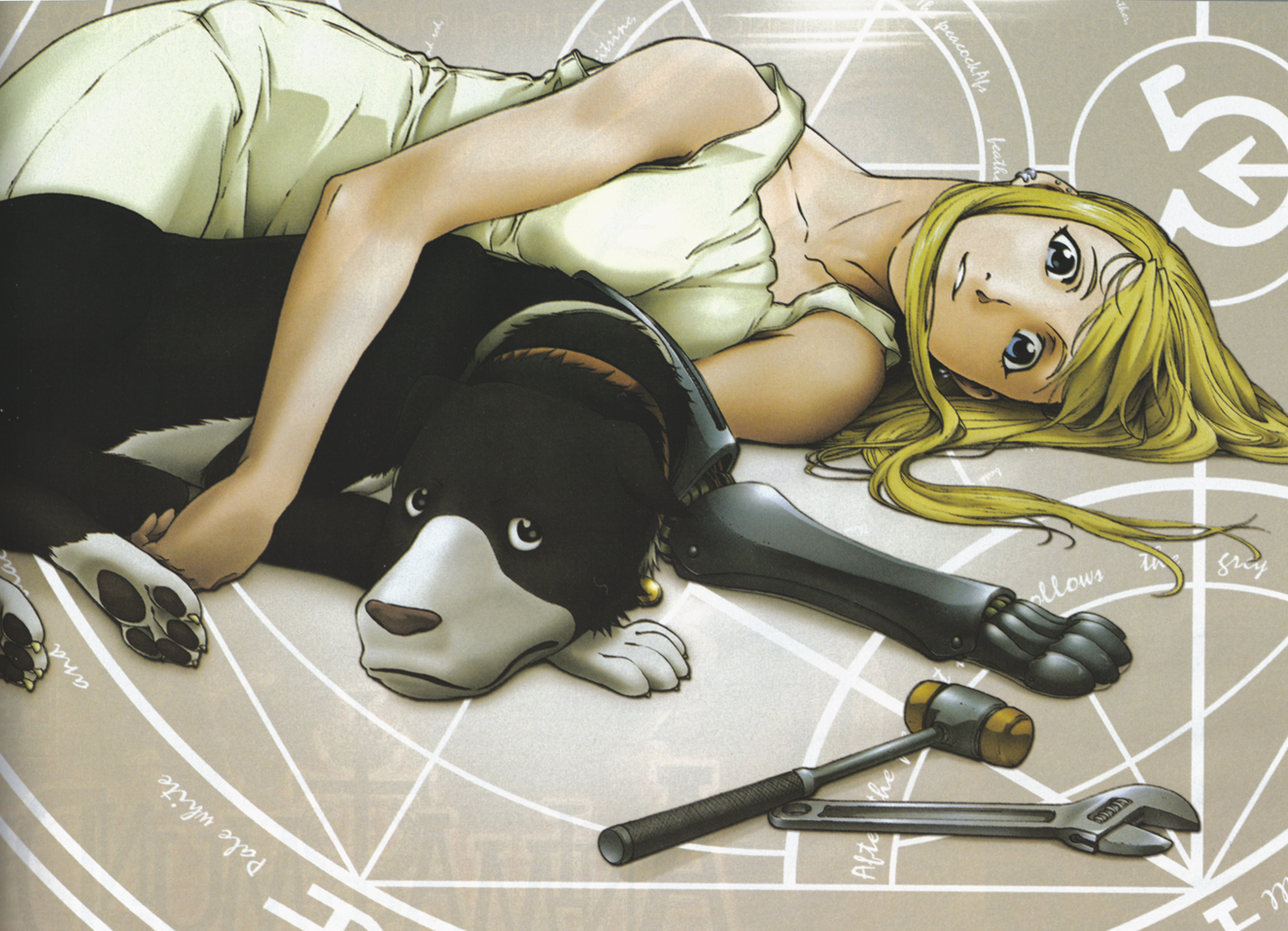 blonde den winry and - photo #16