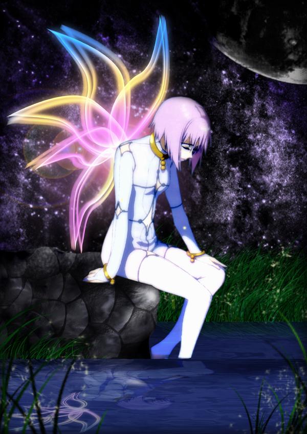 Tags: Anime, Wolf's Rain, Cheza, Mobile Wallpaper