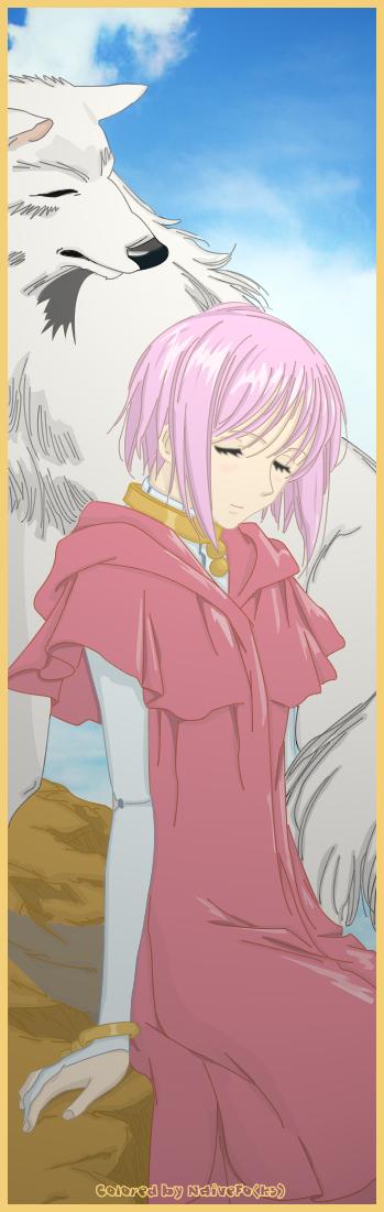 Tags: Anime, Wolf's Rain, Cheza, Kiba (Wolf's Rain)