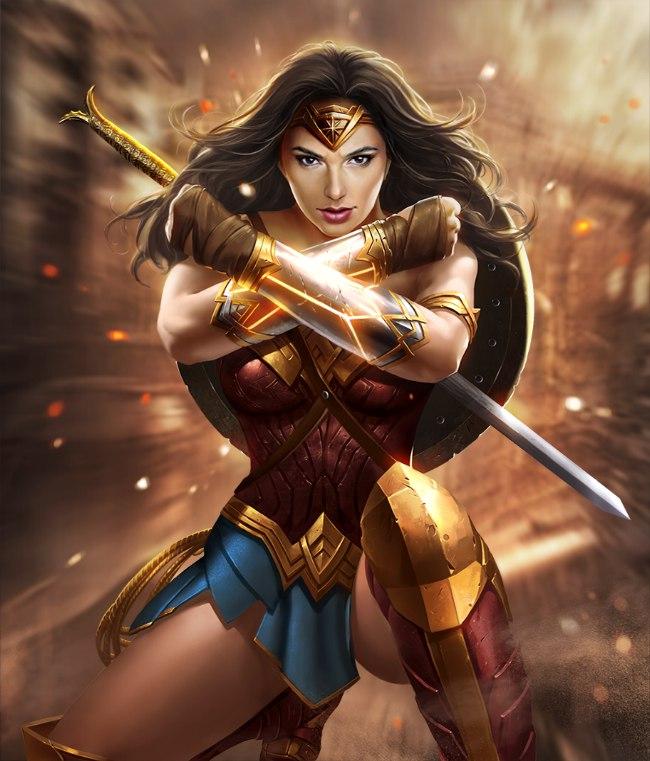 Tags: Anime, Infinity1729, Wonder Woman, Lasso, DC Comics, deviantART