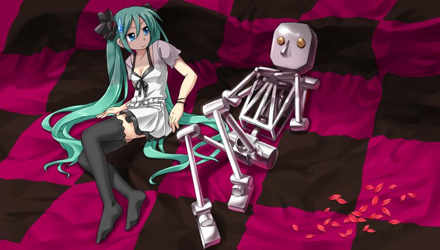 World is mine 451983 zerochan - Cyber diva vocaloid ...