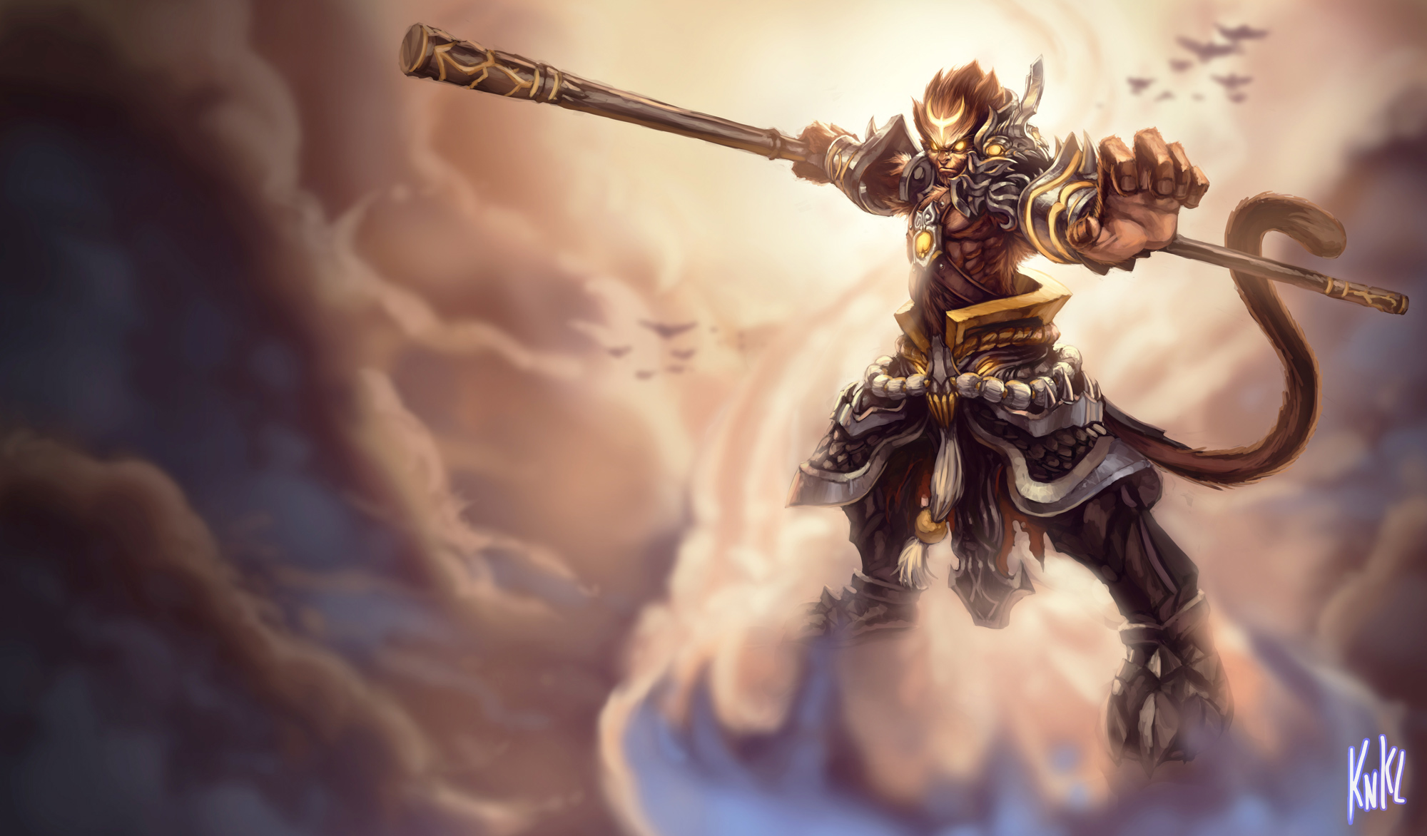 comparison between satan and sun wukong