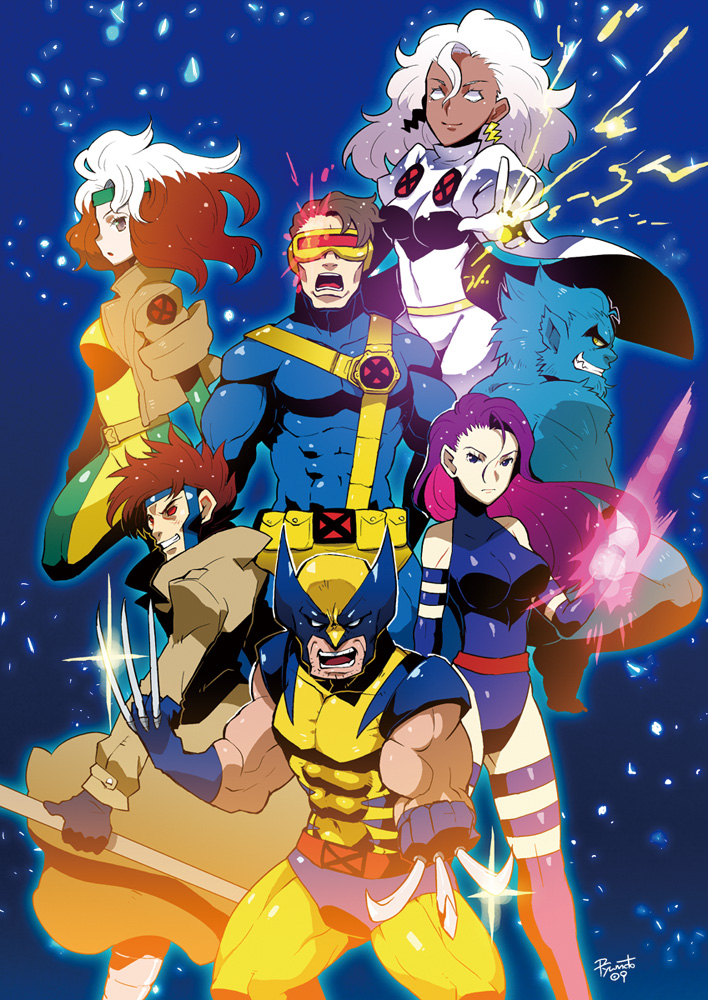 X Men Anime Characters : X men mobile wallpaper  zerochan anime image board