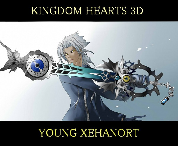 Hearts 3D  Dream Drop Distance  Kingdom Hearts  Xehanort  KeybladeXehanort Dream Drop Distance