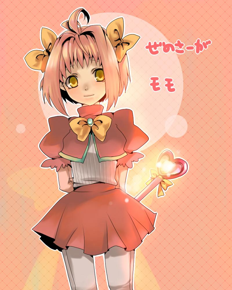 Tags  Anime  Xenosaga  M O M O  WandXenosaga Momo