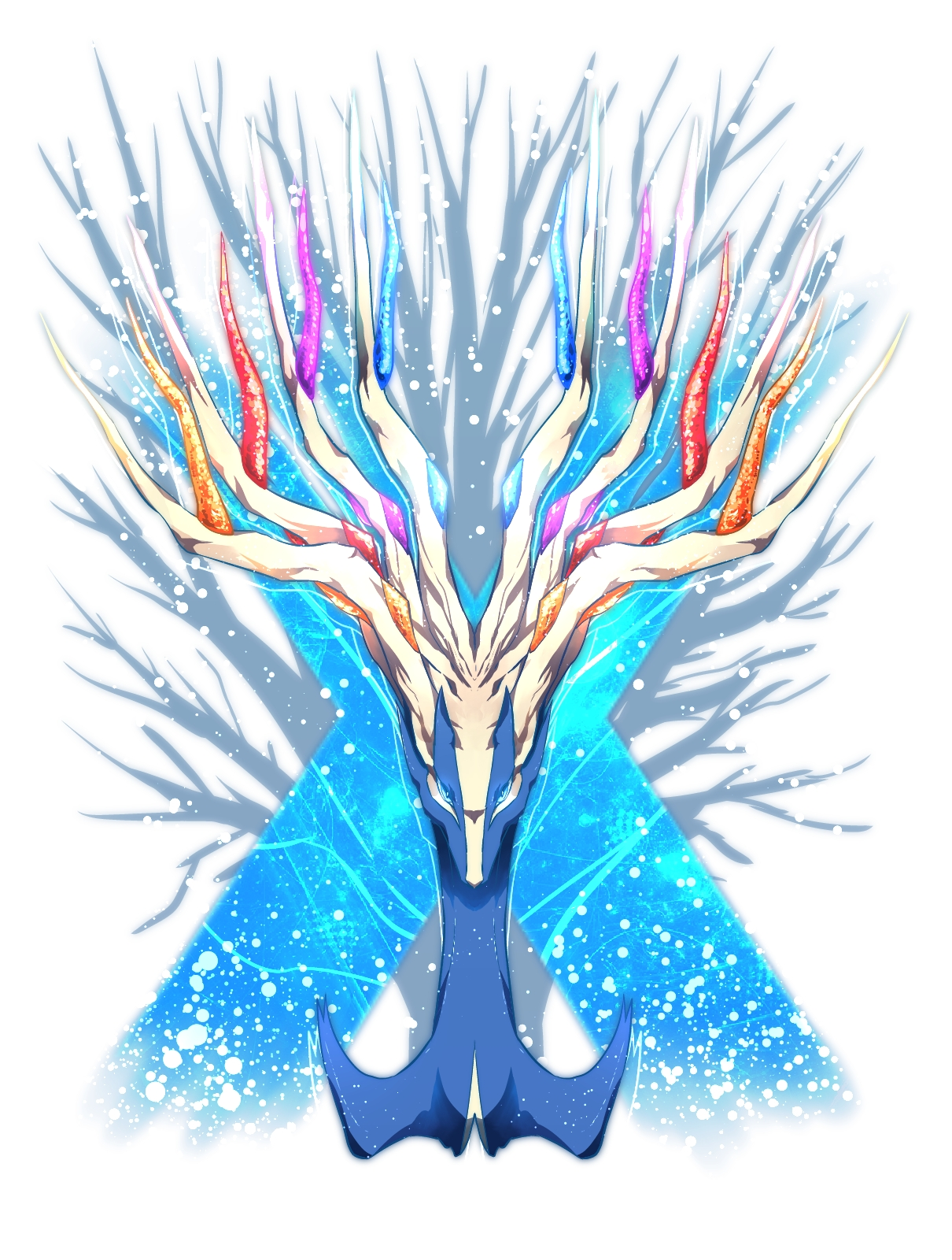 Xerneas/#1600818 - Zerochan Glowing Eyes Anime