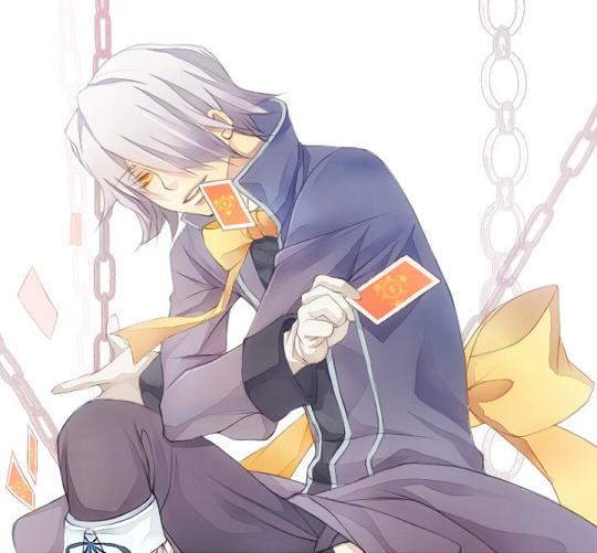 Tags: Anime, Yoshi Shigeru, Pandora Hearts, Xerxes Break, Fanart, Pixiv
