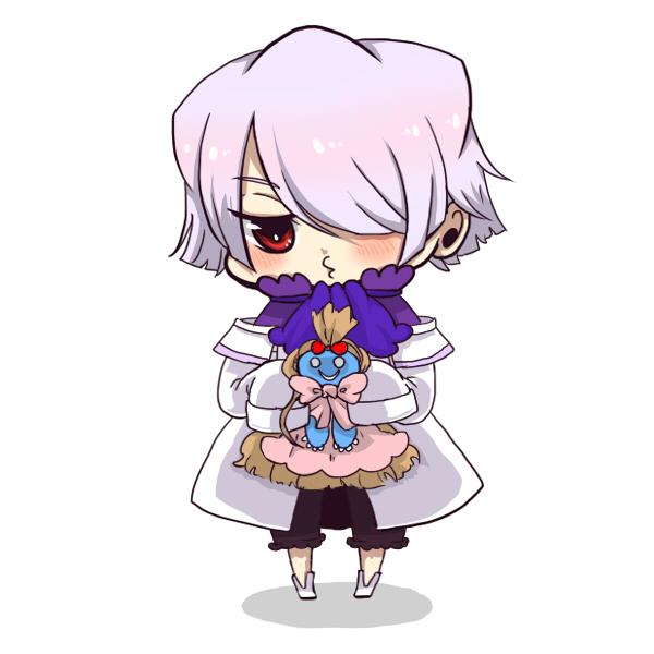 Tags: Anime, Pixiv Id 1230959, Pandora Hearts, Xerxes Break, Emily (Pandora Hearts), Pixiv, Fanart