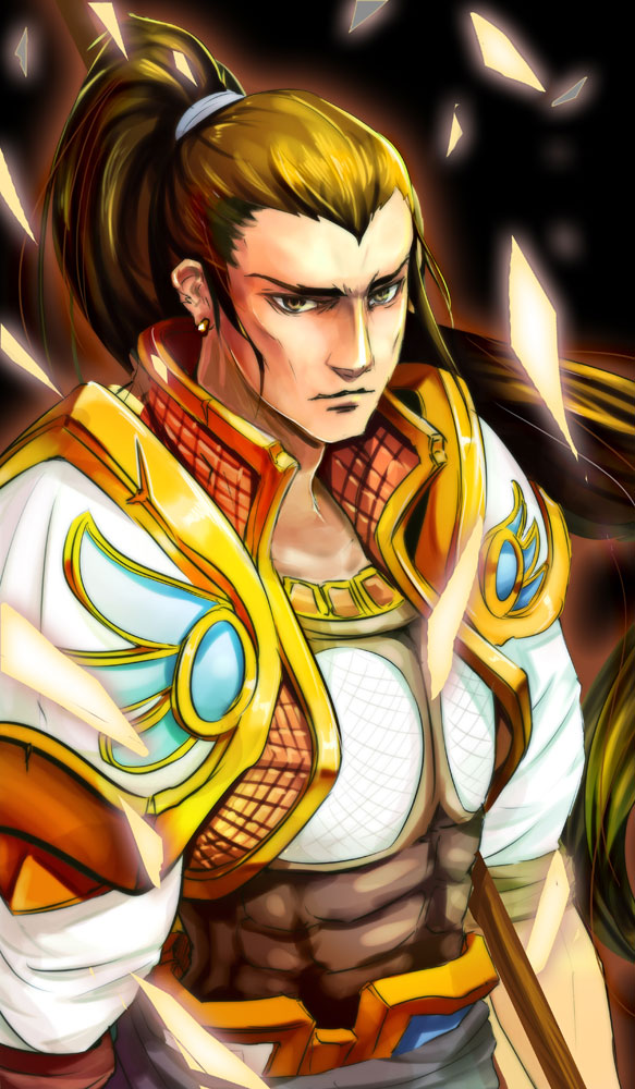 Tags: Anime, League of Legends, Beancurd, Xin Zhao