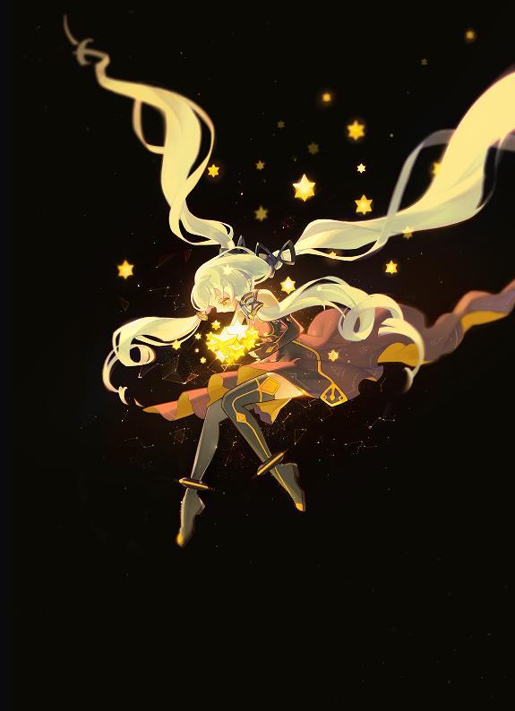 Tags: Anime, Pixiv Id 3360206, VOCALOID, Xingchen, Constellation, Fanart From Pixiv, Mobile Wallpaper, Pixiv, Fanart