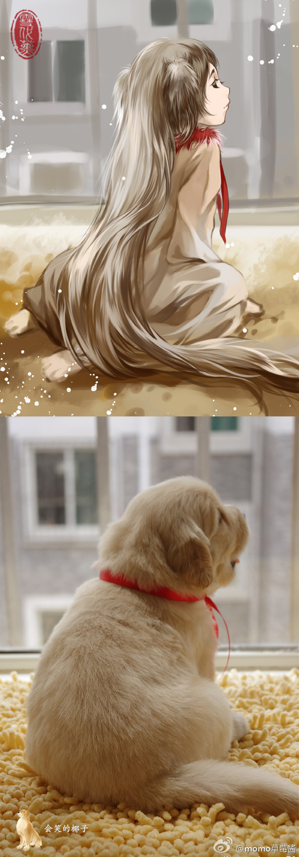 Tags: Anime, Xuedaixun, Pixiv, Original, Inspiration By Photo, Photograph (Source)
