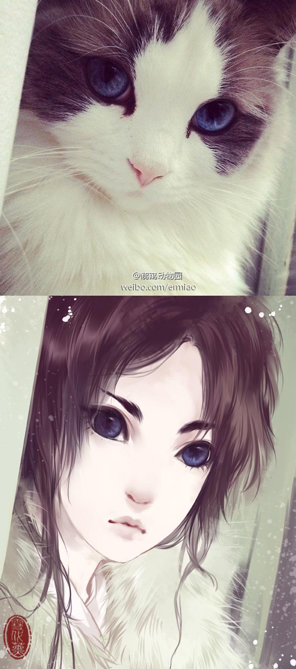 Tags: Anime, Xuedaixun, Original, Inspiration By Photo, Photograph (Source), Pixiv