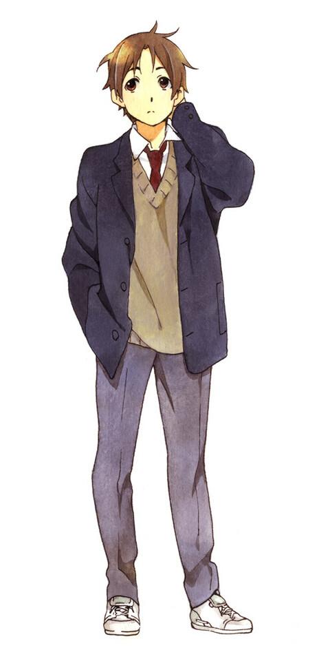 Tags: Anime, Horiguchi Yukiko, Kokoro Connect, Yaegashi Taichi, Official Art