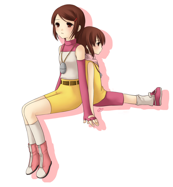 Tags: Anime, Shye, Digimon Adventure, Yagami Hikari
