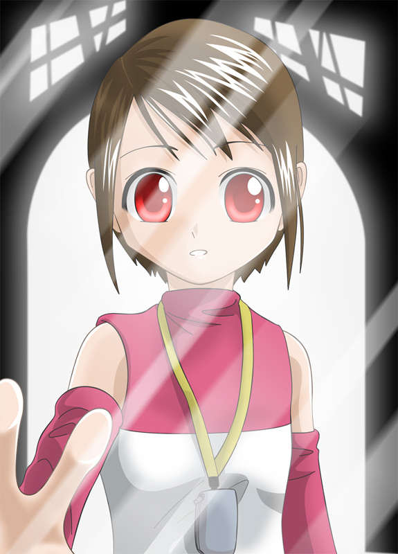 Tags: Anime, Riza23, Digimon Adventure, Yagami Hikari, Whistle (Object)
