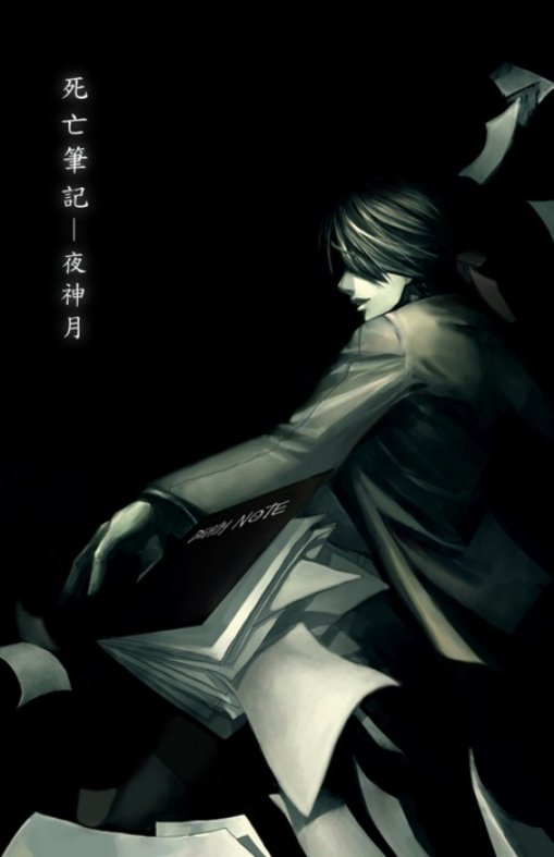 Tags: Anime, DEATH NOTE, Yagami Raito, Death Note (Object), Mobile Wallpaper, Artist Request, Light Yagami