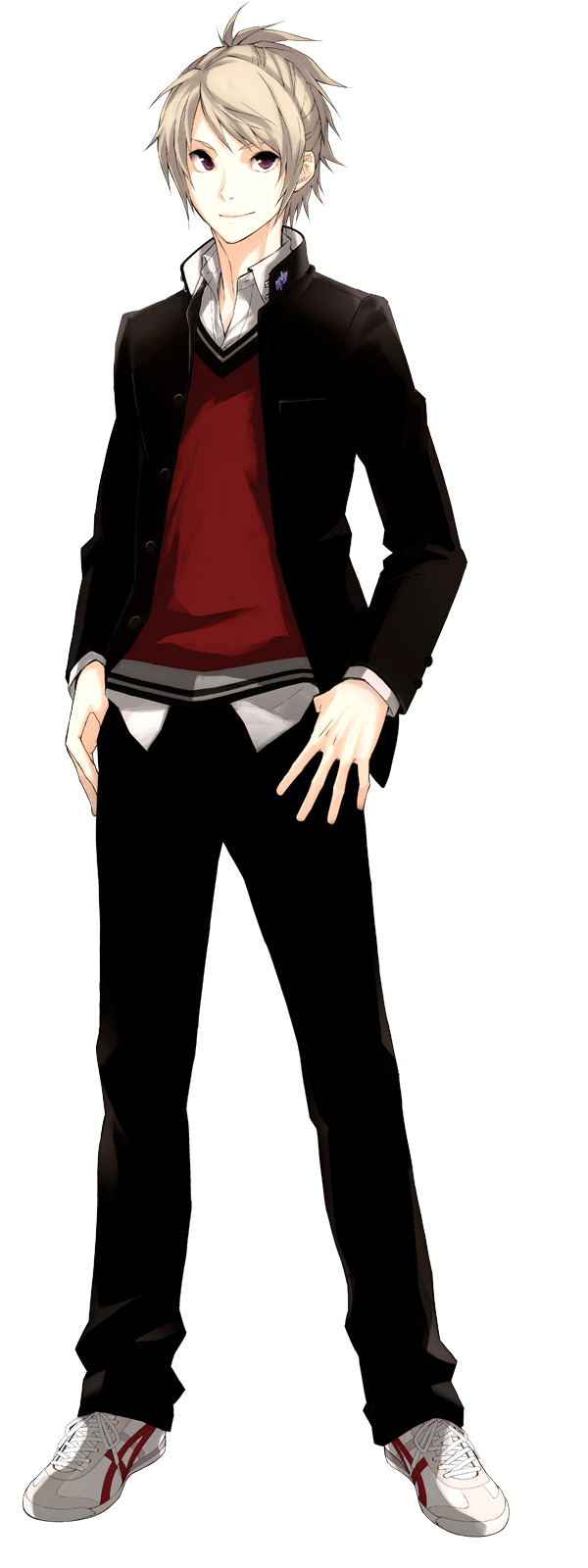 Tags: Anime, Nono Kanako, PRINCE OF STRIDE, Yagami Riku, PNG Conversion, Official Art