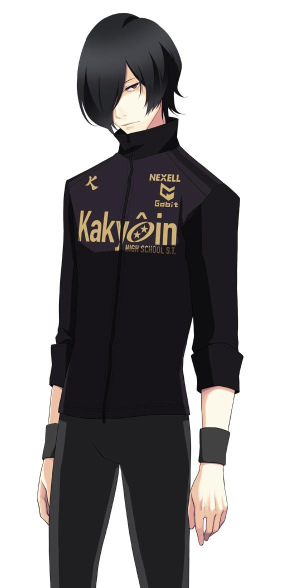 Tags: Anime, Nono Kanako, PRINCE OF STRIDE, Yagami Tomoe, PNG Conversion, Official Art