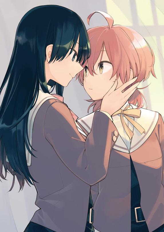 Tags: Anime, Nakatani Nio, Yagate Kimi ni Naru, Koito Yuu, Nanami Touko, Official Art, Pixiv, Bloom Into You