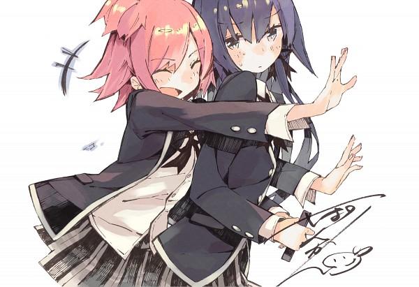 Tags: Anime, Ponkan Eight, Yahari Ore no Seishun Love Come wa Machigatteiru, Yukinoshita Yukino, Yuigahama Yui, Blazer