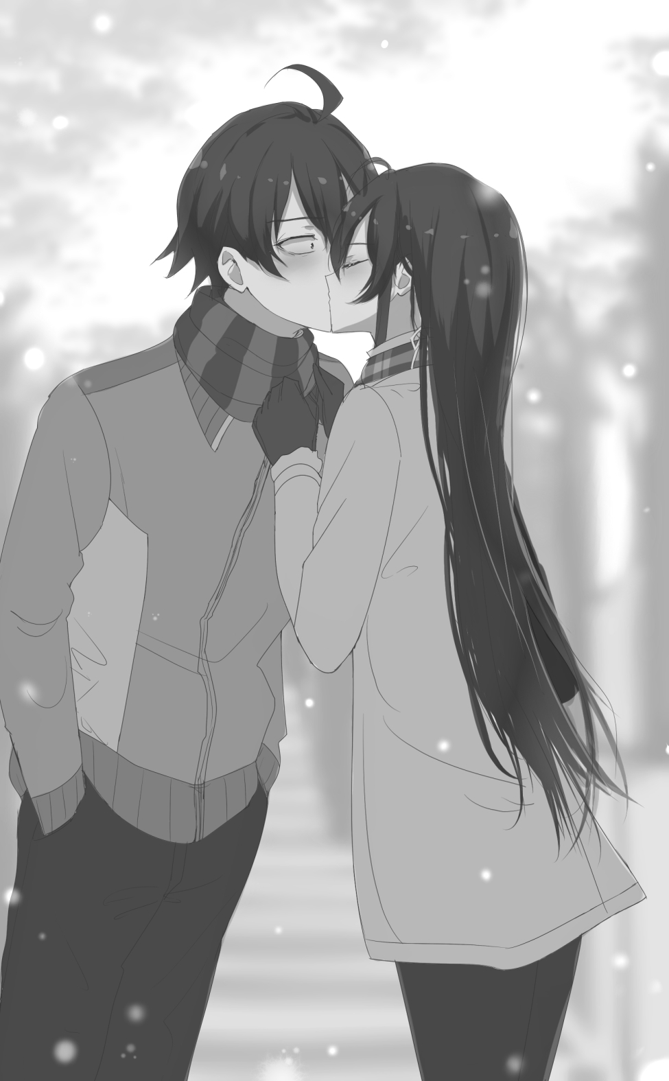 Yahari kiss