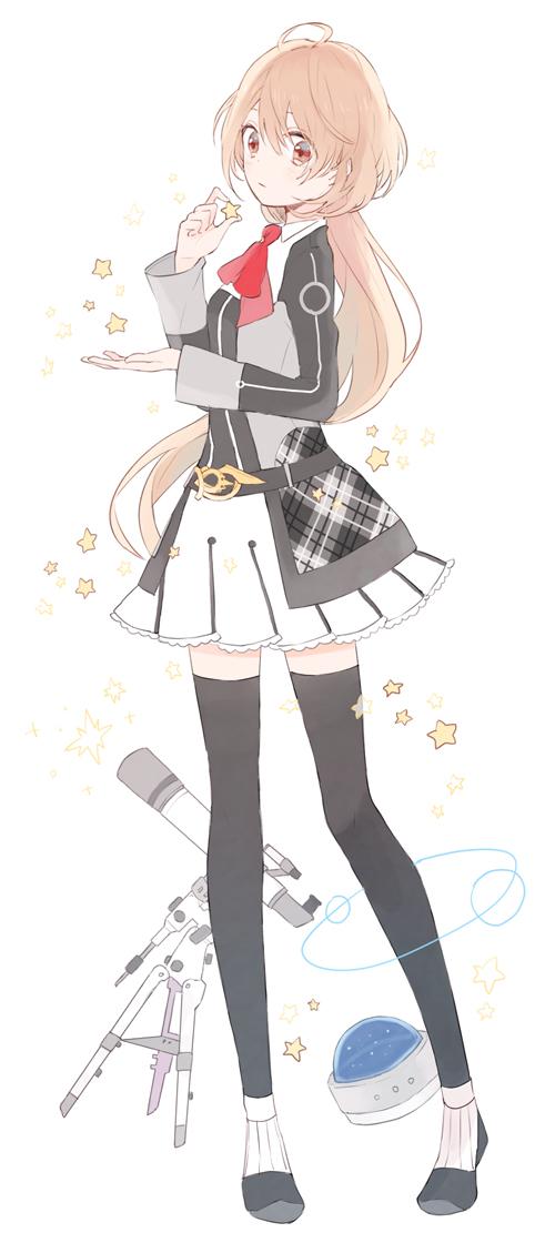 Tags: Anime, Gomi Chiri, Starry☆Sky~, Yahisa Tsukiko, Orbit, Telescope, Observatory