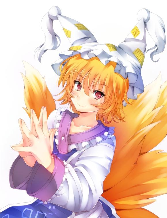 Tags: Anime, Amayofuu, Touhou, Yakumo Ran, Fanart From Pixiv, Fanart, Pixiv, Ran Yakumo