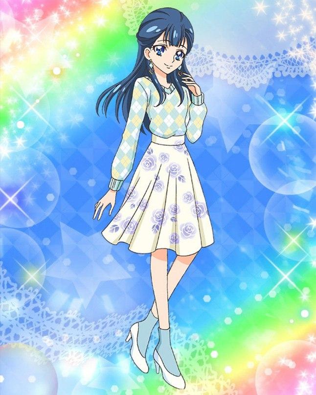 Tags: Anime, HUGtto! Precure, Precure Tsunagaru Puzzlun, Yakushiji Saaya