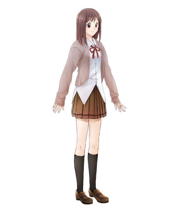 Tags: Anime, Suzuken, Daisy2, Sangoku Rensenki ~Otome no Heihou!~, Yamada Hana, Brown Skirt, Official Art