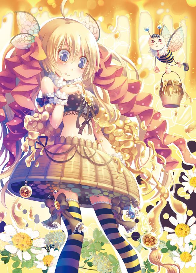 Tags: Anime, Yamadori Yoshitomo, Honey, Bee, Pixiv, Original