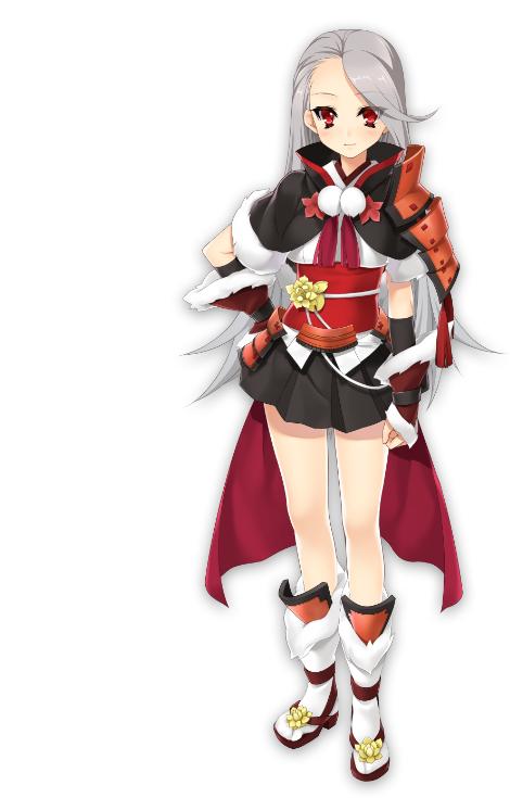 Tags: Anime, Kamitsurugi Ouka, BaseSon, Sengoku†Koihime, Yamagata Konayuki Masakage, Official Art, Cover Image