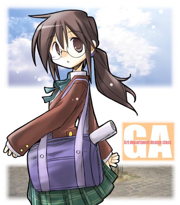 Tags: Anime, Rascal (Pixiv3097408), GA: Geijutsuka Art Design Class, Yamaguchi Kisaragi, Pixiv