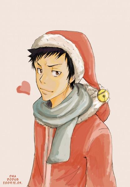 Tags: Anime, Katekyo Hitman REBORN!, Yamamoto Takeshi, Christmas Outfit, Christmas, Christmas Hat