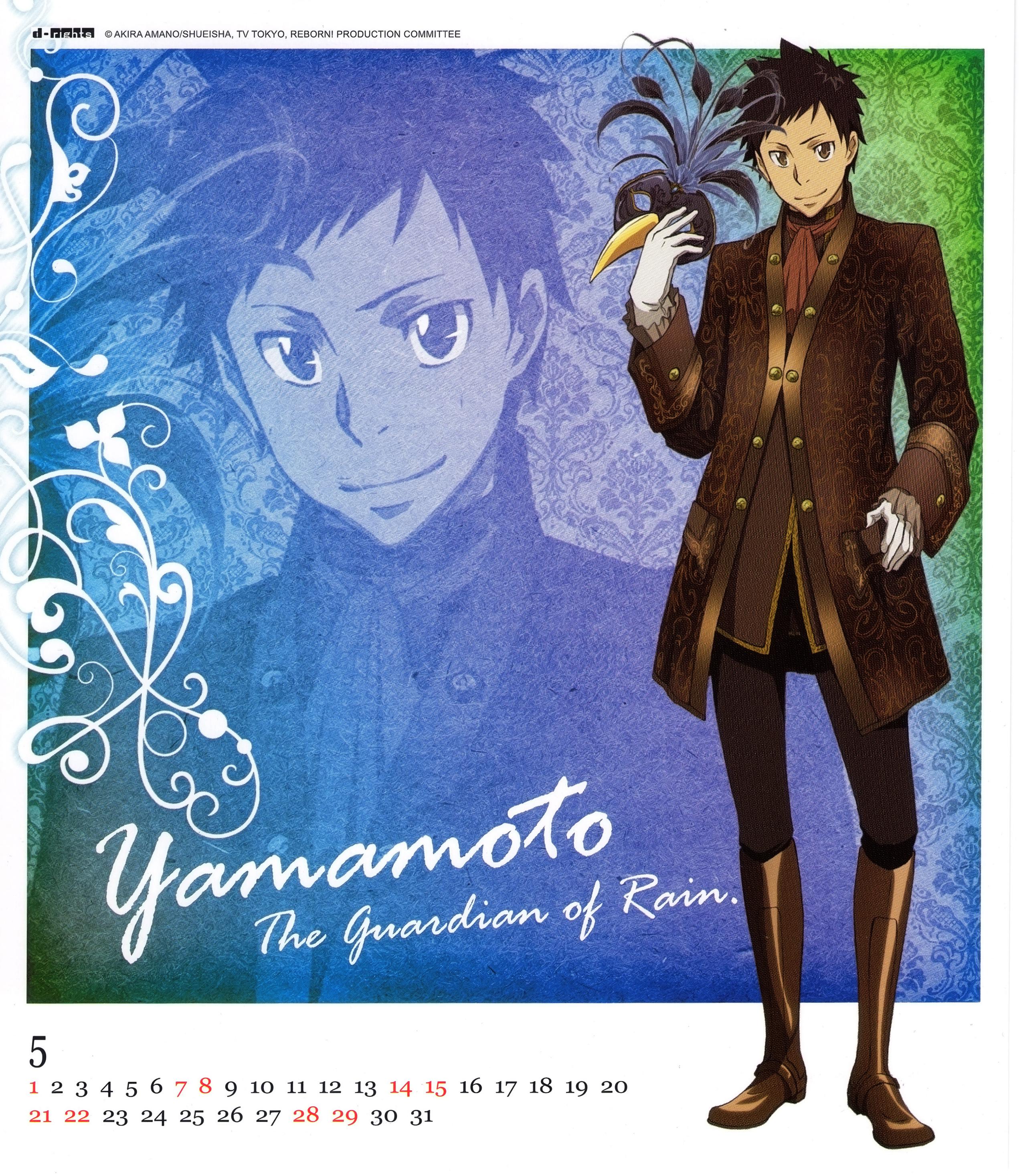 yamamoto takeshi - katekyo hitman reborn  - image  524976