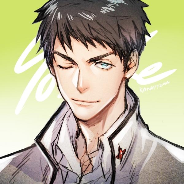 Tags: Anime, KANapy, Free!, Yamazaki Sosuke, Fanart, Tumblr