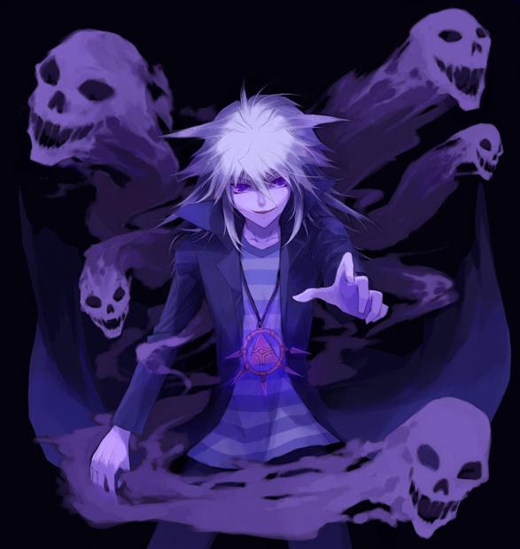 Tags: Anime, Reki (Pixiv 34004), Studio Gallop, Yu-Gi-Oh! Duel Monsters, Yu-Gi-Oh!, Yami Bakura, Possessed, Millennium Ring, Fanart, Pixiv, Fanart From Pixiv
