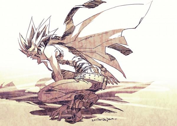 Tags: Anime, Pixiv Id 2075835, Yu-Gi-Oh! Duel Monsters, Yu-Gi-Oh!, Yami Yugi, Shadow, Sleeveless Shirt