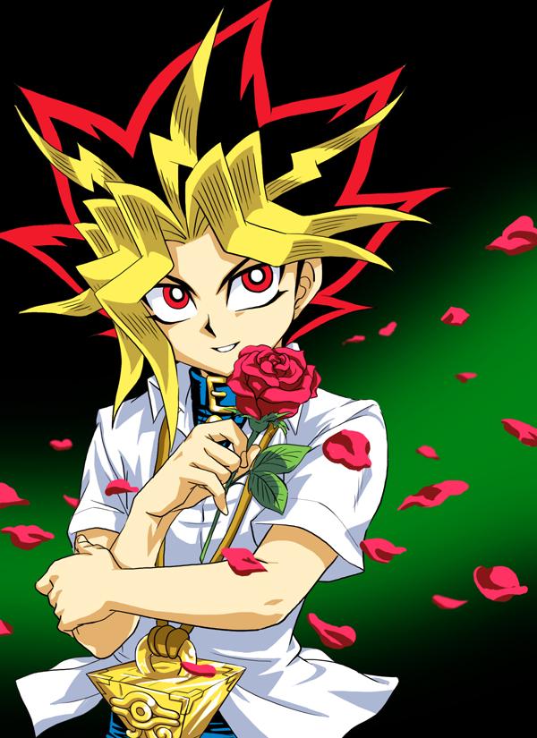 Tags: Anime, Pixiv Id 1457981, Yu-Gi-Oh! Season Zero, Yu-Gi-Oh!, Yami Yugi, Mobile Wallpaper